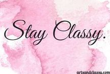Classy Quotes / Positive Thoughts and Inspirational Quotes.