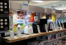 Point of sale units / Point of sale units for various products. Send us a design or let us design something for you!
