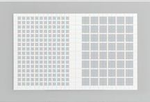 Grids / They're like prison bars, for texts and images, on screen or print.