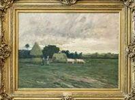 Une oeuvre / Une oeuvre représentative du travail d'un artiste, de sa technique de création, à vendre.
