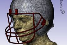 3D Human Head Model / Simpleware has worked with the US Naval Research Laboratory to develop a cutting-edge human head model suitable for a wide range of head injury simulations.  http://simpleware.com/industries/medical-and-dental/case-study-development-of-a-biofidelic-human-head-model.html