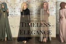 Timeless Elegance    2015 / 'Simplicity is the ultimate sophistication''. A collection enriched with Timeless Elegance. Distinguished by high quality tailoring and a relentless focus on the finest details, means each garment truly embodies the Aab spirit of beauty and gracefulness. Unique embroideries, a flair for flare and designs that flow, -  Timeless Elegance by Aab