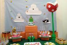 Anniversaire Mario/yoshi / Mario/Yoshi party / Des tas d'idées pour une fête Mario ou Yoshi réussie !