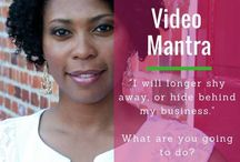 Video Tips for Your Biz / Tips and strategies to use before creating your own videos.