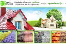 Mycie dachu / Roof cleaning / Mycie dachu, czyszczenie dachu, usuwanie glonów, impregnacja dachu.