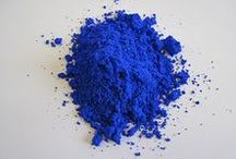COLOR Blues / intense vibrant blue cobalt kobalt marine hue color palette YInMn blue (Yttrium, Indium and Manganese): unique crystal structure makes the pigment stable, durable and fade resistant when mixed with water or oil, all non-toxic ingredients. #tech  Despite us knowing that white light contains every colour in the rainbow, there are still some colours that are yet to be created.