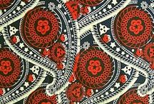 COLOR Red / interior decoration red fabric tiles