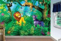 Amazing Children Murals / Murales pour Enfants / Beautiful wallpaper murals for kids. All our murals are prepasted, easy to install, dry strippable and reusable. | Magnifiques murales en papier peint pour enfants. Toutes nos murales sont préencollées, faciles à poser, s'enlèvent à sec et sont réutilisables.