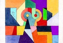 MIS TRABAJOS - MY WORK / Algunos de mis dibujos y pinturas - Some of my drawings and paintings - www.azur-arte.com