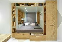 Compact Living / Prefab, Shipping Container, Attefallshus, Modern Cabin, Tiny house, small apartments, houseboat, summerhouse, Scandinavian home etc