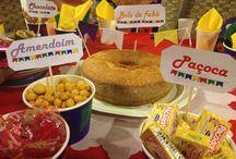Festa junina by me / Decoração para festa junina