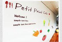 素材サイト『ぷちペイント』デザインアレンジサンプル集♪ / 無料で使える手書き風イラスト素材を配布している【ぷちペイント】の作品導入事例を載せています。  サイトURL http://petitpaint.niteandday.tokyo/