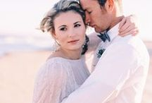 Beach Wedding Editorial / Beautiful Inspiration shoot for beach weddings featuring #RC6257 by Nikki Santerre Phtography!  http://burnettsboards.com/2014/05/beach-wedding-editorial-heartfelt-message/