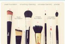 brushes,make up supplies ,creams...