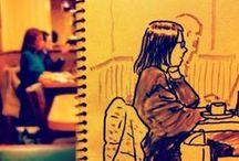 Art. cool . drawings.illustration...