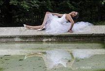 Mes robes de mariées blanches / Quelques-unes de mes créations robes de mariée... à dominantes blanches, crème ou ivoire
