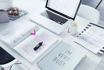 Opiskelua / Ideoita, inspiraatiota ja motivointia.