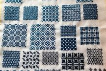 sashiko &  embroidery &  needlepoint