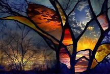 Stained glass / by Carla Van Galen
