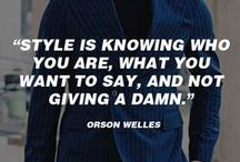 Fashion Quotes & How-To's / Fashion Infrographics, Advice, Quotes & How-To's