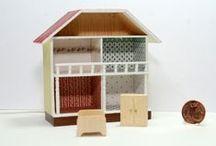 Accessoires im Maßstab 1:12  (Dollhouse Miniatures Scale 1:12 - handmade) / kleine Wohnaccessoires und Gebrauchtgegenstände in 1:12 Eigenkreationen & Handarbeit