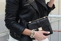 LEATHER(how to style) / Different ways to wear leather from day to night