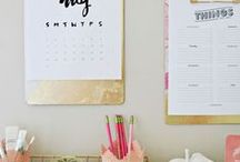 ORGANIZATION / Clever ways to organise your desk