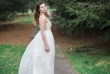 Woodland Bridal Session / We are loving the moody vibe of this bridal session taken in woodsy Connecticut. The way Madi captured the sparkle of DT6366's beading and the movement of the organza and lace fabrics through the skirt is truly stunning. Thank you so much to Madison Abbey Photography for such beautiful work!  http://sajawedding.com/…/…/105267782-woodland-bridal-session