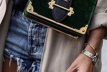 LUXURY / Luxury fashion and designer handbags .