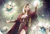 Mythical Fantasy Art / by Lisa Trader