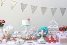 Ideas Fiesta Shabby Chic / Inspiración para decorar una fiesta con estilo shabby chic.