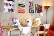 Espaces couture / Aménager son atelier couture, idées et inspirations