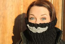 crochet- scarfs