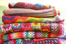 crochet- blankets & rugs