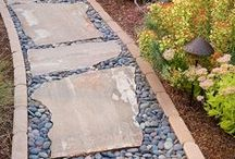 Driveway & Walkway Ideas / A well-built well-maintained asphalt driveway adds curb appeal to your house. Earth Haulers has crushed stone, granite and gravel; great to fill driveways or garden paths. http://www.earthhaulers.com/commercial-residential-landscaping-product-delivery/