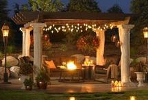 Patio Style / Great ideas for dressing up the outdoor patio