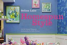 Selina Lake / Pastel & homespun interiors