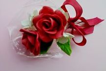 Floral Creations / Clay flowers, sospeso trasparente, quilling, decoupage