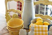 Lizzy yellow / Yellow in decor & design