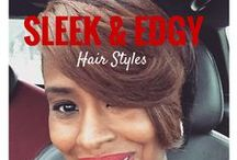 Short Straight Hair Styles / A Short Hair Cut represents a women with style, confidence, and beauty.