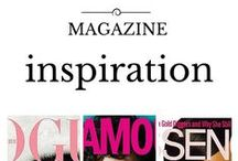 Magazine Inspiration / Beauty, Styles, Hair Care, and Fashion