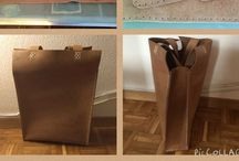 Leather diy- bags & pouches & wallets