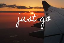 Bucket list / • JUST GO AND FIND YOURSELF •