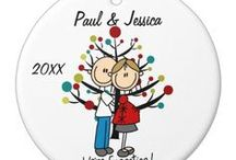 Personalized Christmas Tree Ornaments / Personalized Christmas Tree Ornaments for the whole family!