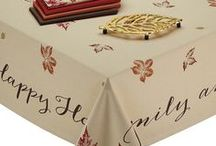 Tablecloths for Thanksgiving / Tablecloths for Thanksgiving and the Fall season - Stylish Thanksgiving tablecloths