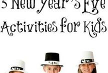 New Years Eve / New Years Eve party ideas, food, outfits, decor and more!