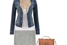 Lizzy Denim jackets / Looking stylish with just adding a denim jacket to your outfit