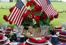 Memorial Day / Memorial Day: Recipes for Grilling, Lunch, Desserts, Party and Decoration Ideas.