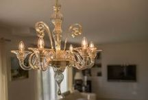 Our Creations... in Your Home! / Artistic Murano glass chandeliers from Venice. Visit sognidicristallo.it to see and buy on line our creations!