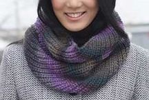 Knitting - Cowls, Scarves and Hats